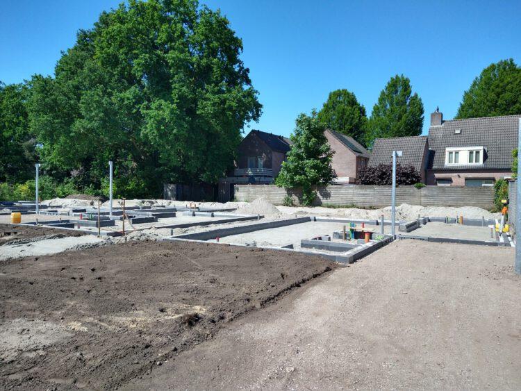 Nieuwbouw 4 patio woningen De Rips