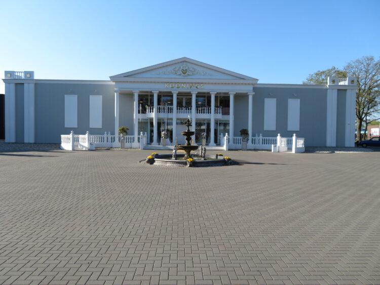 Nieuwbouw Weddingpalace Koonings Deurne